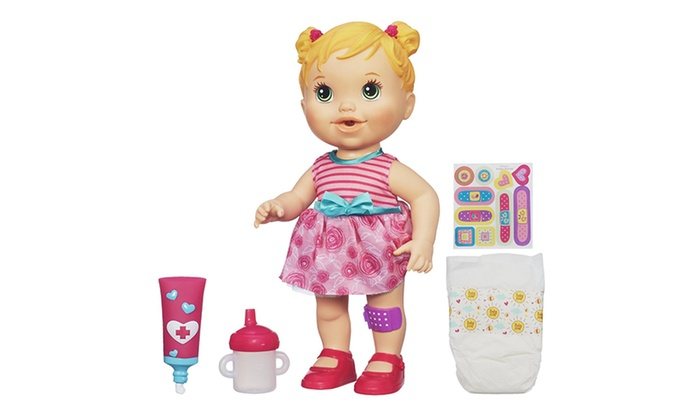 Baby Alive Gets A Boo Boo Groupon Goods