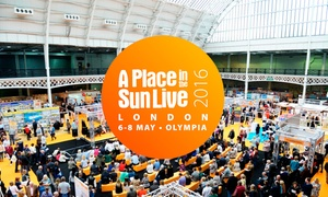 A Place in the Sun Live: One or Two Tickets to A Place in the Sun Live at Olympia London, 6-8 May (Up to 40% Off)