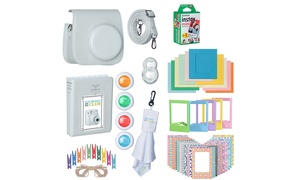 Accessory Set with Film for Fuji Film Instax Mini 9 (11-Piece)