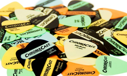 ChromaCast 60-Piece Vintage Guitar-Pick Sampler. Free Returns.