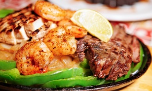 Cabo Wabo Cantina Las Vegas: Tex-Mex Food and Drinks for Two or Four or More at Cabo Wabo Cantina (Up to 42% Off)