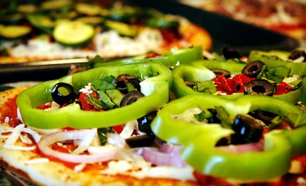Pizza Meal with Cheese Bread and Salad for Dine-In, Takeout, or Delivery at My Slice Pizza (Up to 44% Off)
