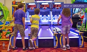 Niagara Falls Fun Zone: Arcade Package for 1, 2, 4, or 6 with 50, 150, 350, or 500 Tokens at Niagara Falls Fun Zone (Up to 74% Off)