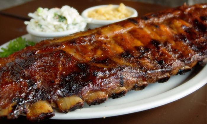 Bubba's Q - Avon: $15 for $30 Worth of Barbecue at Bubba's Q