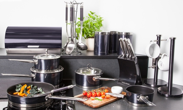 Morphy richards kitchen bundle groupon goods for Kitchen set groupon