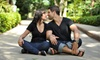 null - Maple: Basic or Couples Photo-Shoot Package with Digital Images and Prints from Pixel Perfect Photography (Up to 93% Off)