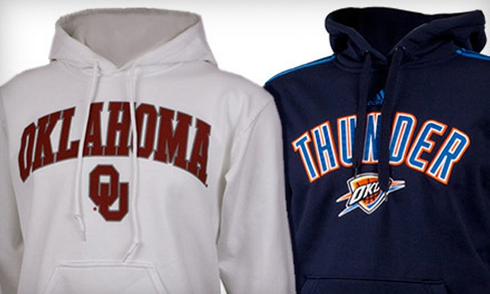 Fan Outfitters - Multiple Locations: $10 for $20 Worth of OU Collegiate and Oklahoma Thunder Apparel, Gifts, and More at Fan Outfitters
