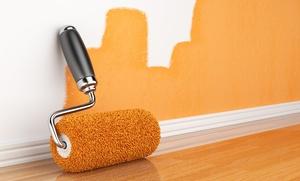 2 capas de pintura de 50, 75 o 100 m² de paredes y techos desde 159 €
