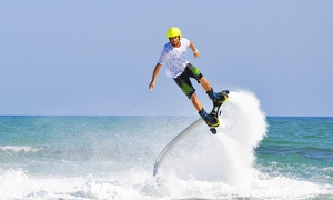 Aquafly Oklahoma LLC: Flyboarding Lesson for One, Two, or Four from Aquafly Oklahoma LLC (Up to 51% Off)