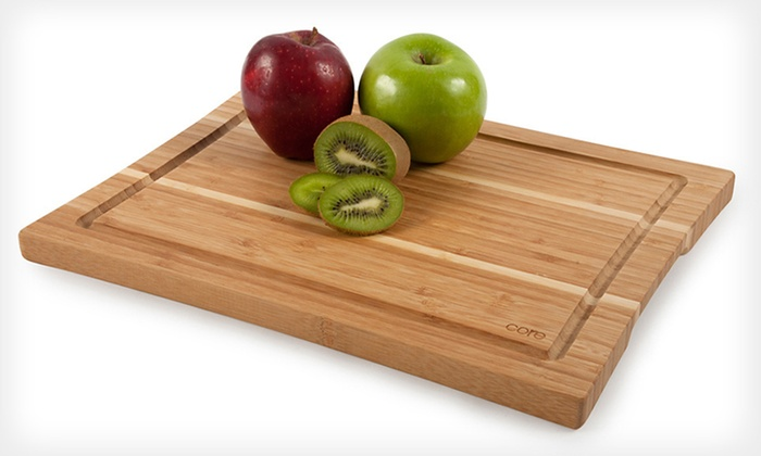 Core Bamboo Cutting Boards and Utensils: Core Bamboo Cutting Boards and Utensils (Up to 57% Off). Four Options Available. Free Returns.