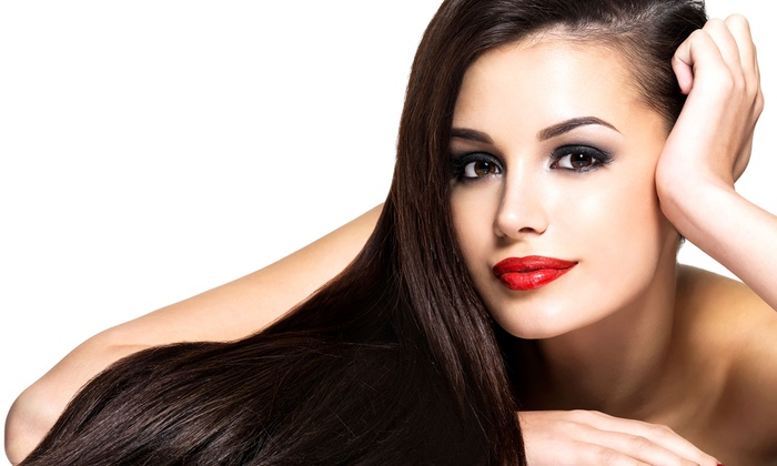 SalonBar - Dunwoody: $79 for Keratin Hair-Smoothing Treatment at SalonBar ($350 Value)