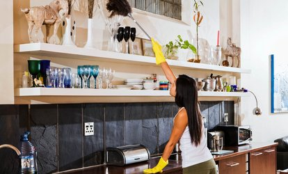 image for Three or Six Man-Hours of Housecleaning from The Personal Concierge (Up to 55% Off)