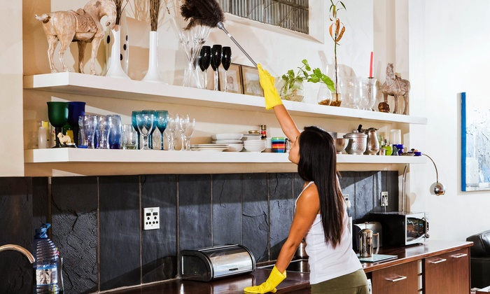 The Personal Concierge - Speedway: Three or Six Man-Hours of Housecleaning from The Personal Concierge (Up to 55% Off)
