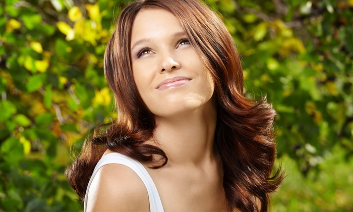 Salon Social - Mid-City West: One Men and Women's Haircut and Style at Salon Social (51% Off)