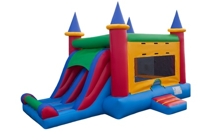 Character or Bounce-House Rental from Fan2see Productions (Up to 63% Off). Four Options Available.