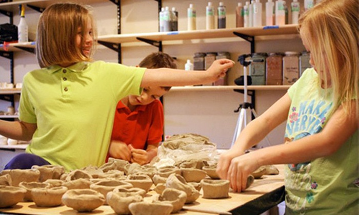 Open Arts Studio - Stadium District: 2.5-Hour Pottery Class for One or Two or Six-Week Arts or Music Course at Open Arts Studio (Up to 54% Off)