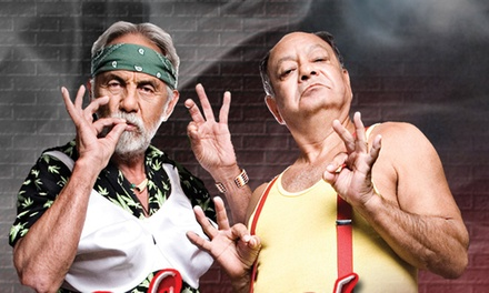 Cheech & Chong with WAR at Gwinnett Center on Saturday, June 13 (Up to 56% Off)