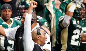 San Jose Sabercats vs. Arizona Rattlers: San Jose SaberCats Arena Football Game at the SAP Center on July 31 (Up to 53% Off). Four Seating Options Available.