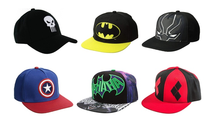 e658058759d Up To 50% Off on Superhero Marvel and DC Hat