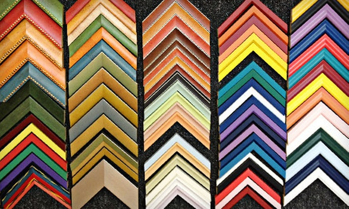 Picture Framing Outlet - Whippany: $19 for $100 Worth of Custom Framing at Picture Framing Outlet