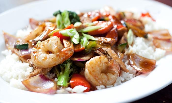 East Winds Asian Cuisine - Huntington Beach: $18 for $30 or $36 for $60 Worth of Pan-Asian Fare at East Winds Asian Cuisine in Huntington Beach