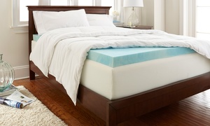 "Purasleep 2"" Gel-enhanced Memory-foam Matress Toppers"