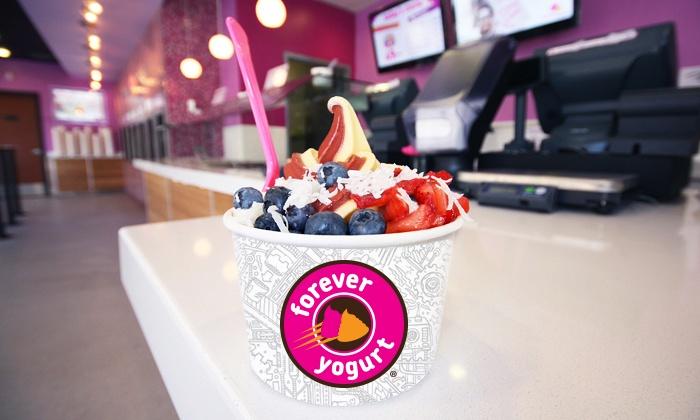 Forever Yogurt - Madison: $5 for $10 Worth of Frozen Yogurt at Forever Yogurt