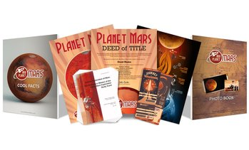 57% Off One Acre of Land on Mars from Buy Planet Mars