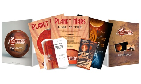 $15 for One Acre of Land on Mars from Buy Planet Mars ($35 Value)