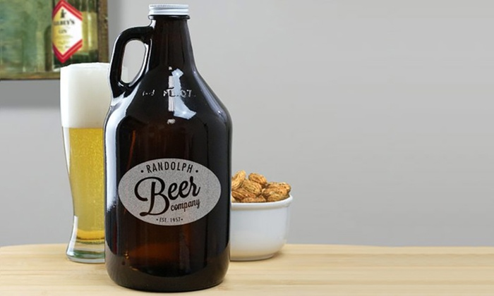 GiftsForYouNow.com: Personalized Growlers from GiftsForYouNow.com