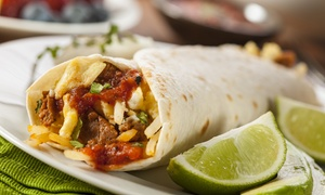 Una Mas!: $20 Worth of Mexican Food or $100 Worth of Mexican Catering at Una Mas!
