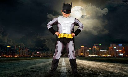 Superhero Photoshoot With Prints for £9 at Andreas Photography (Up to 92% Off)