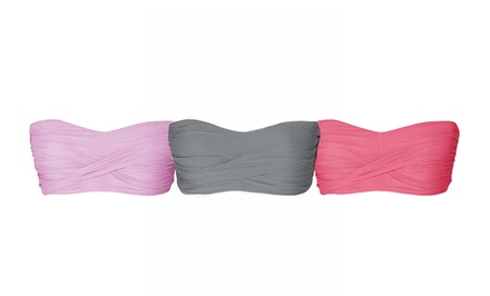 groupon daily deal - 6-Pack of Tart Collections Bandeau Bras. Multiple Colors Available.