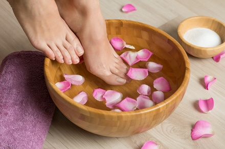 groupon.com - Up to 37% Off on Nail Spa/Salon – Pedicure at LKcreations Skin Care