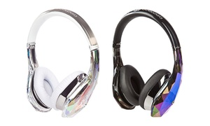 Monster Diamond Tears Edge On-ear Headphones With Controltalk Cables (refurbished)