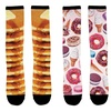 Sublimated Youth Food-Themed Knee-High Socks