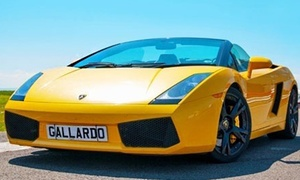 Experience Limits: Lamborgini Gallardo Experience: Three or Six Laps with Experience Limits