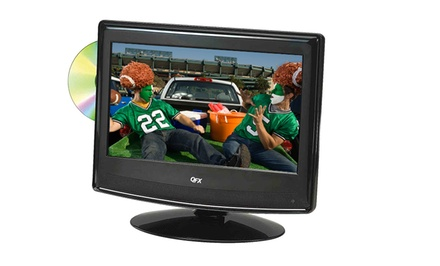 "13"", 16"", or 19"" LED TV with Built-in DVD Player and AC/DC 12-Volt Car Adapter from $119.99–$149.99. Free Returns."
