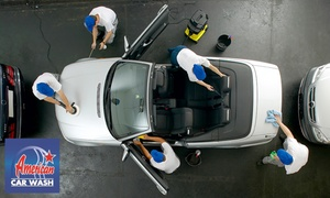 American Car Wash à Saint-Laurent-du-Var: Lavage Platine ou Premium avec 1 ticket lavage Clean pour un prochain passage dès 29,90 € chez American Car Wash