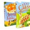 100 Classic Stories and 200 Aesop's Fables 2-Book Bundle