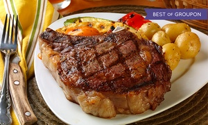 Luby's Pub & Steakhouse: $25 for $50 Worth of Steak-House Cuisine for Dinner at Luby's Pub & Steakhouse