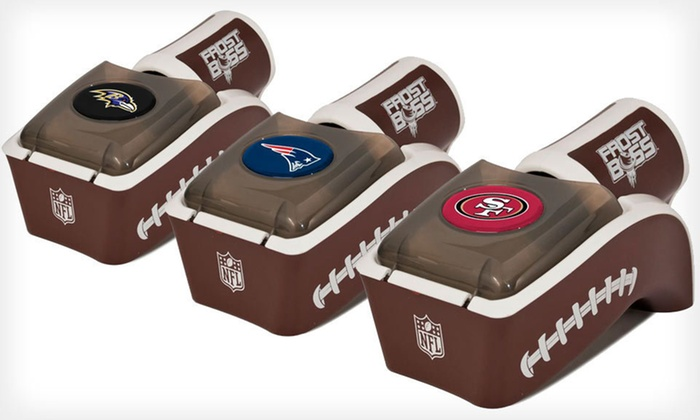 Frost Boss Beverage Chiller: NFL-Themed or Standard Frost Boss (Up to 42% Off). All 32 Teams Available. Free Shipping and Free Returns.