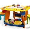 Crayola Kids' Wooden 3-Piece Table and Chair Set
