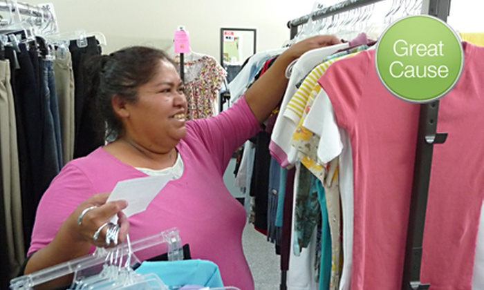 The Clothes Cabin - Chandler: If 50 People Donate $10, Then The Clothes Cabin Can Provide 50 Pairs of Shoes for Low-Income Youth