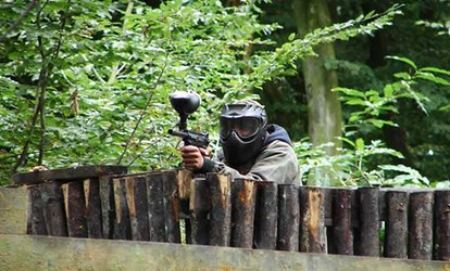 Full-Day Paintballing for Five, Ten or 20 Players with 100 Paintballs for Each at Extreme Mayhem – Kent (Up to 83% Off)