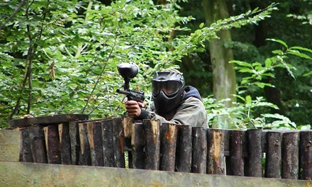 Group Paintballing With Lunch and 100 Balls Each from £9 at Extreme Mayhem (Up to 83% Off) (Kent)