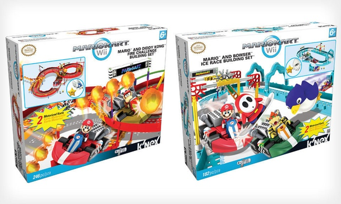 K'Nex Mario Kart Wii Building Sets: $19.99 for a K'Nex Mario Kart Wii Building Set ($66 List Price). Two Options Available. Free Shipping.
