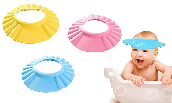 adjustable baby shower cap and face shield adjustable baby shower cap