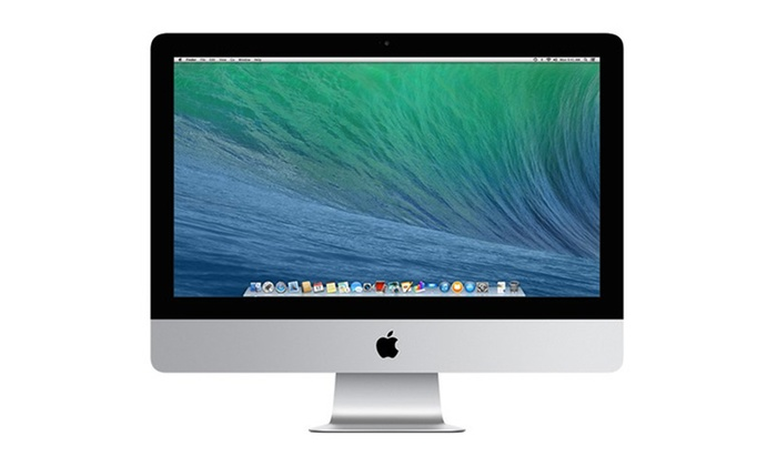 apple imac 21 5 39 39 intel core i3 reconditionn groupon. Black Bedroom Furniture Sets. Home Design Ideas