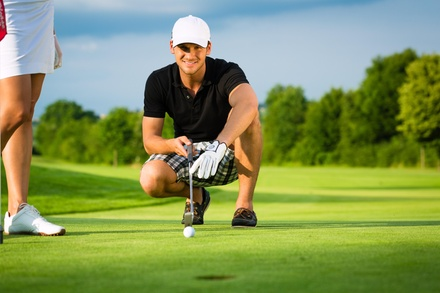 Four Weeks of Golf Lessons from The Golf Zone Learning Center (70% Off)